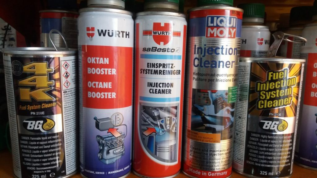 انواع مواد شستشو انژکتور