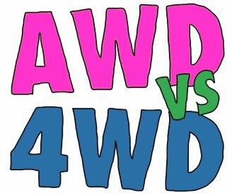 تفاوت 4wd و awd
