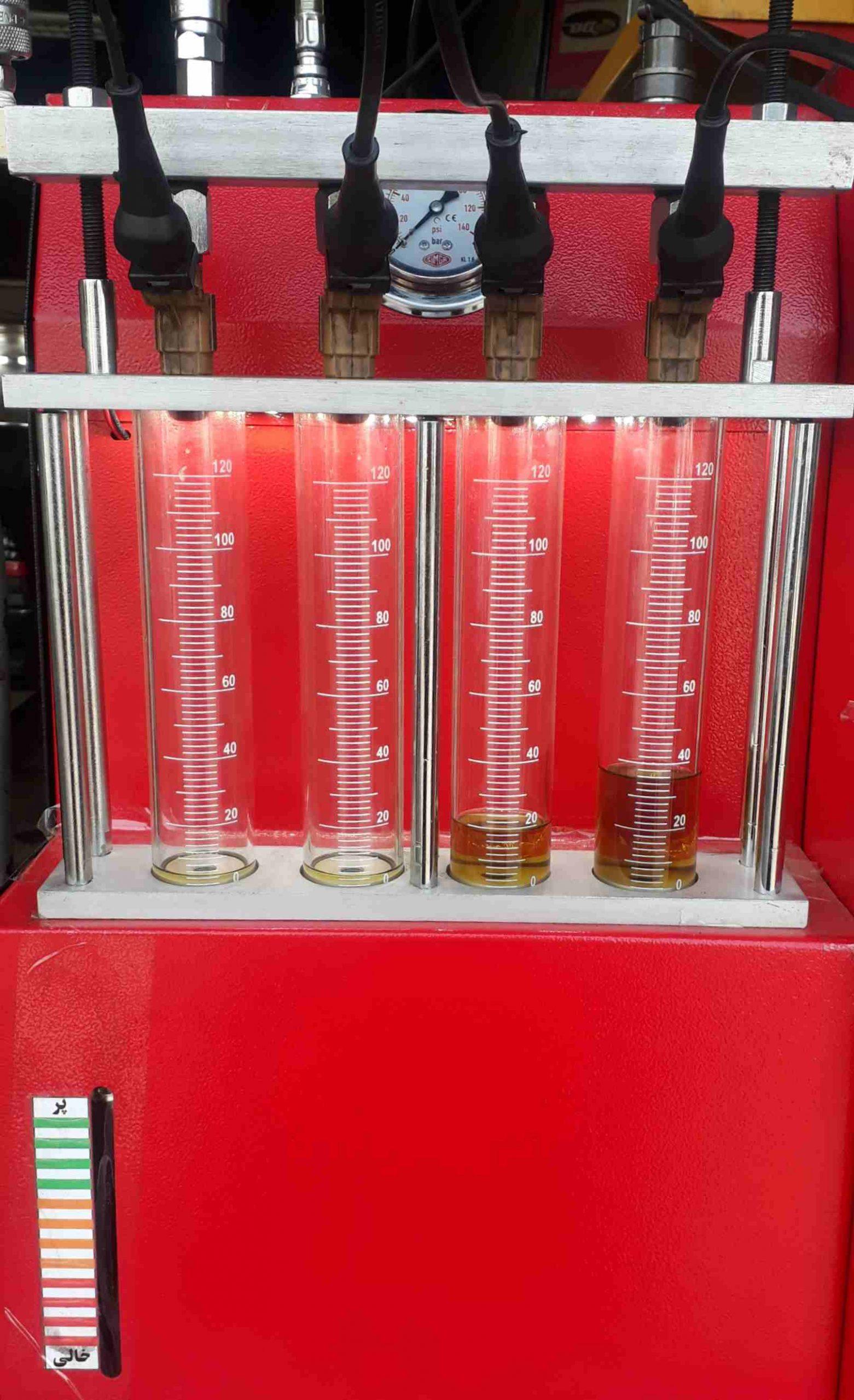 مرکز شستشوی انژکتور با آلتراسونیک و دستگاه سیلندری