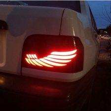 چرا چراغ های عقب ماشین قرمز است؟